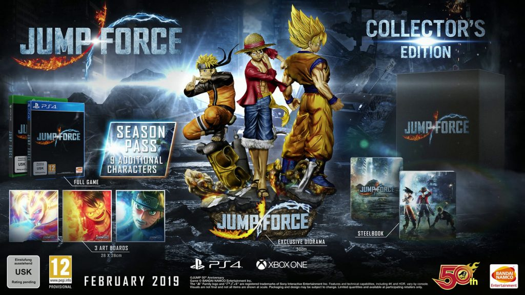 Jump Force Collector's edition