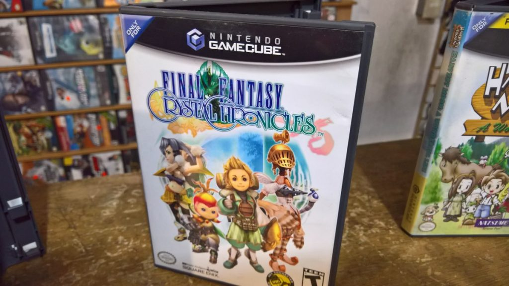 Final Fantasy Christal Chronicles para GameCube