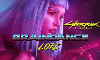 braindance lore cyberpunk 2077