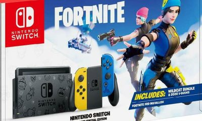 gran paquete de Fortnite Nintendo Switch